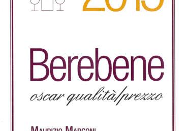 Lacrima di Morro d'Alba 2013 – Gambero Rosso Berebene 2015